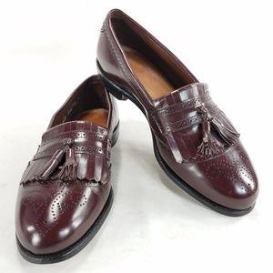 Allen Edmonds Bridgeton Mens Kiltie Loafer Shoes